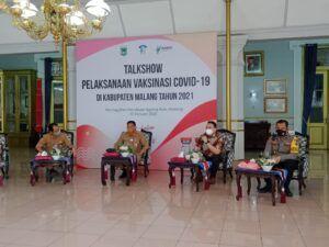Awal Februari, 10 Pejabat dan Nakes di Kabupaten Malang yang Pertama Divaksinasi