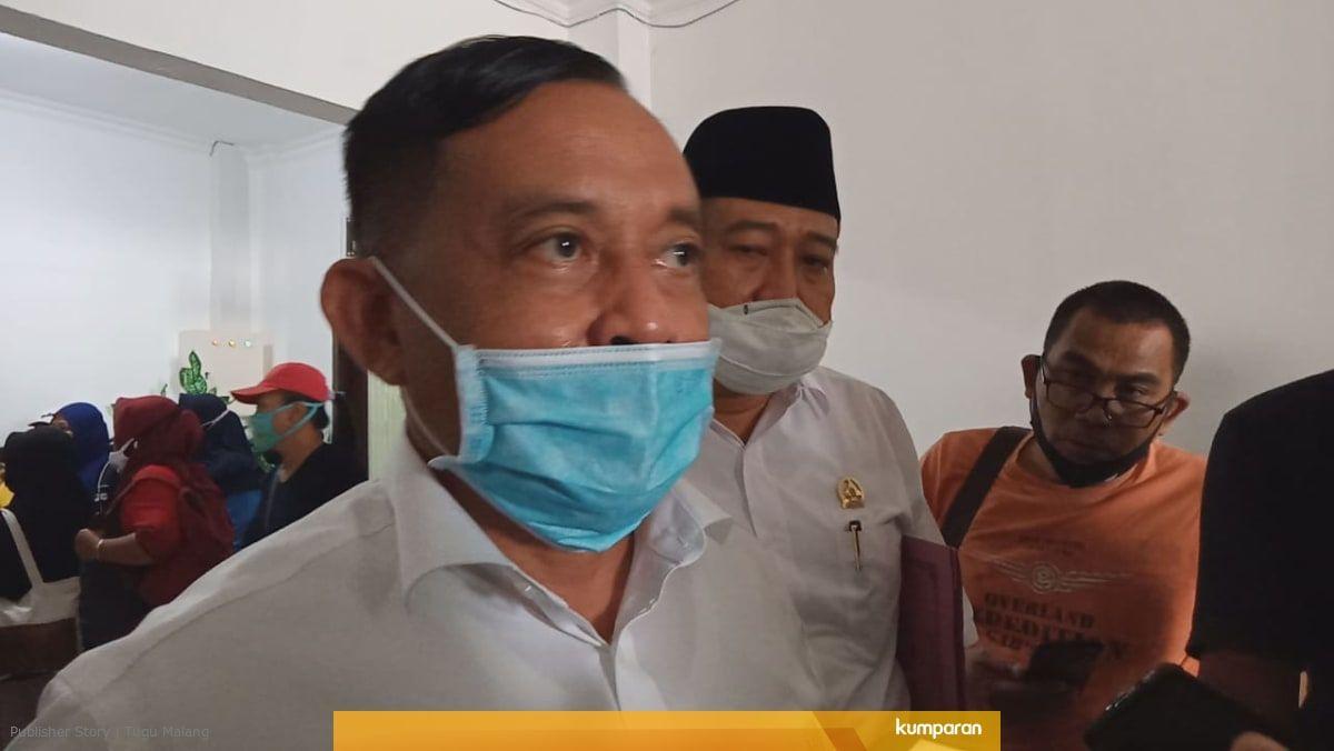 Kepala Dinas Tenaga Kerja (Disnaker) Kabupaten Malang Yoyok Wardoyo. (Foto: Rap/Tugu Jatim)