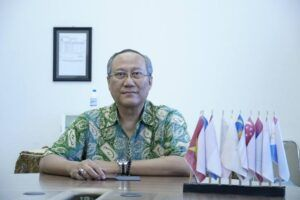 Akademisi dari Institut Teknologi Sepuluh Nopember (ITS) Surabaya Prof Drs Ec Ir Riyanarto Sarno MSc PhD. (Foto:Dok/ITS Surabaya/Tugu Jatim)