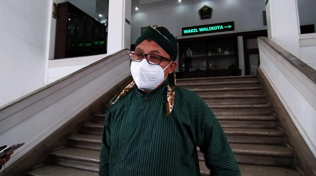 Wali Kota Malang Sutiaji berusaha mencegah wabah corona terus menyebar di Kota Malang.(Foto:Azmy/Tugu Jatim)