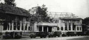 Kondisi Kota Malang pada 1949 silam. (Foto: Dok/ Tawangsari Kampoeng Sedjarah/Tugu Jatim)