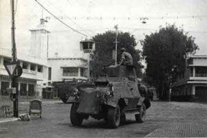 Agresi Militer Belanda II di Kota Malang. (Foto: Dok/ Tawangsari Kampoeng Sedjarah/Tugu Jatim)