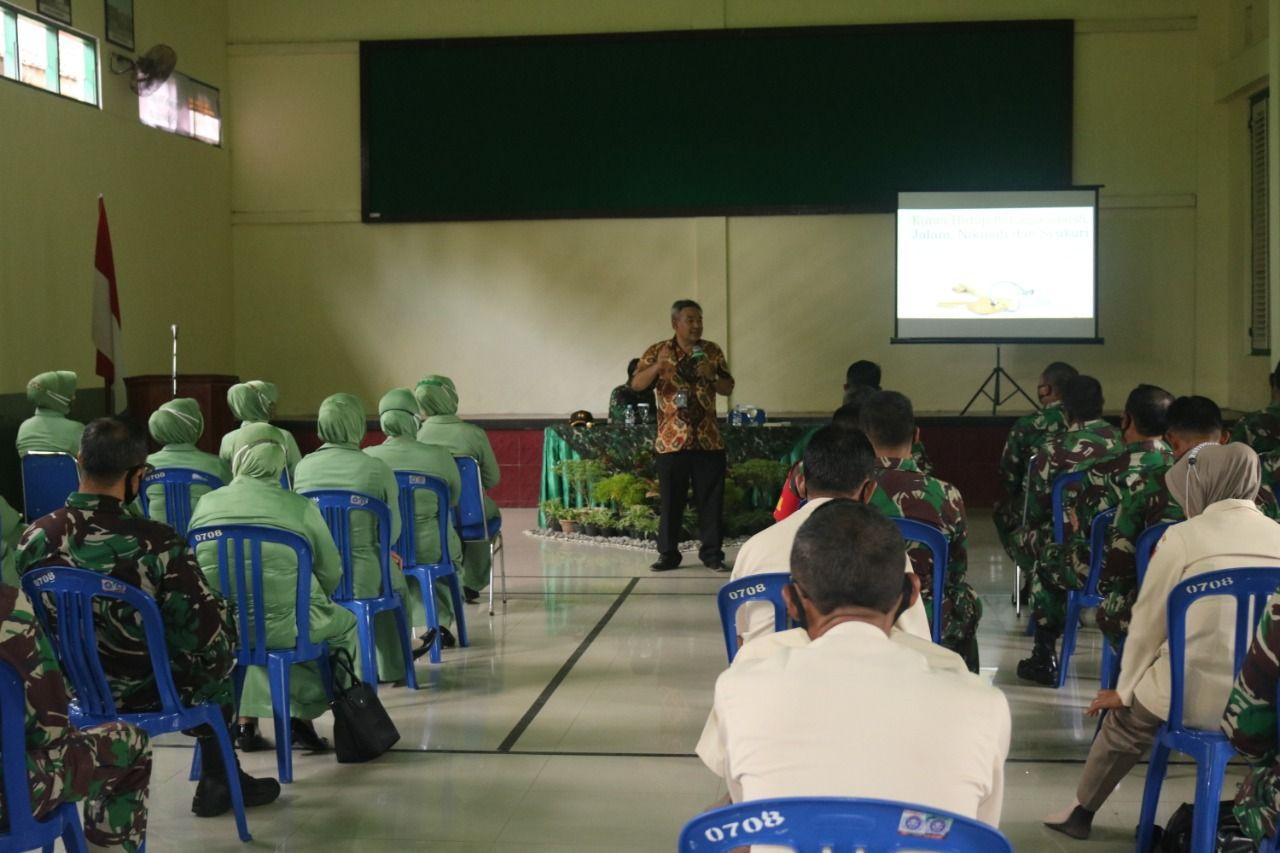 Sharing Komunikasi dan Motivasi dari Dr Aqua Dwipayana bakal berlanjut di Kodim IV/Diponegoro. (Foto:Dok/Tugu Jatim)