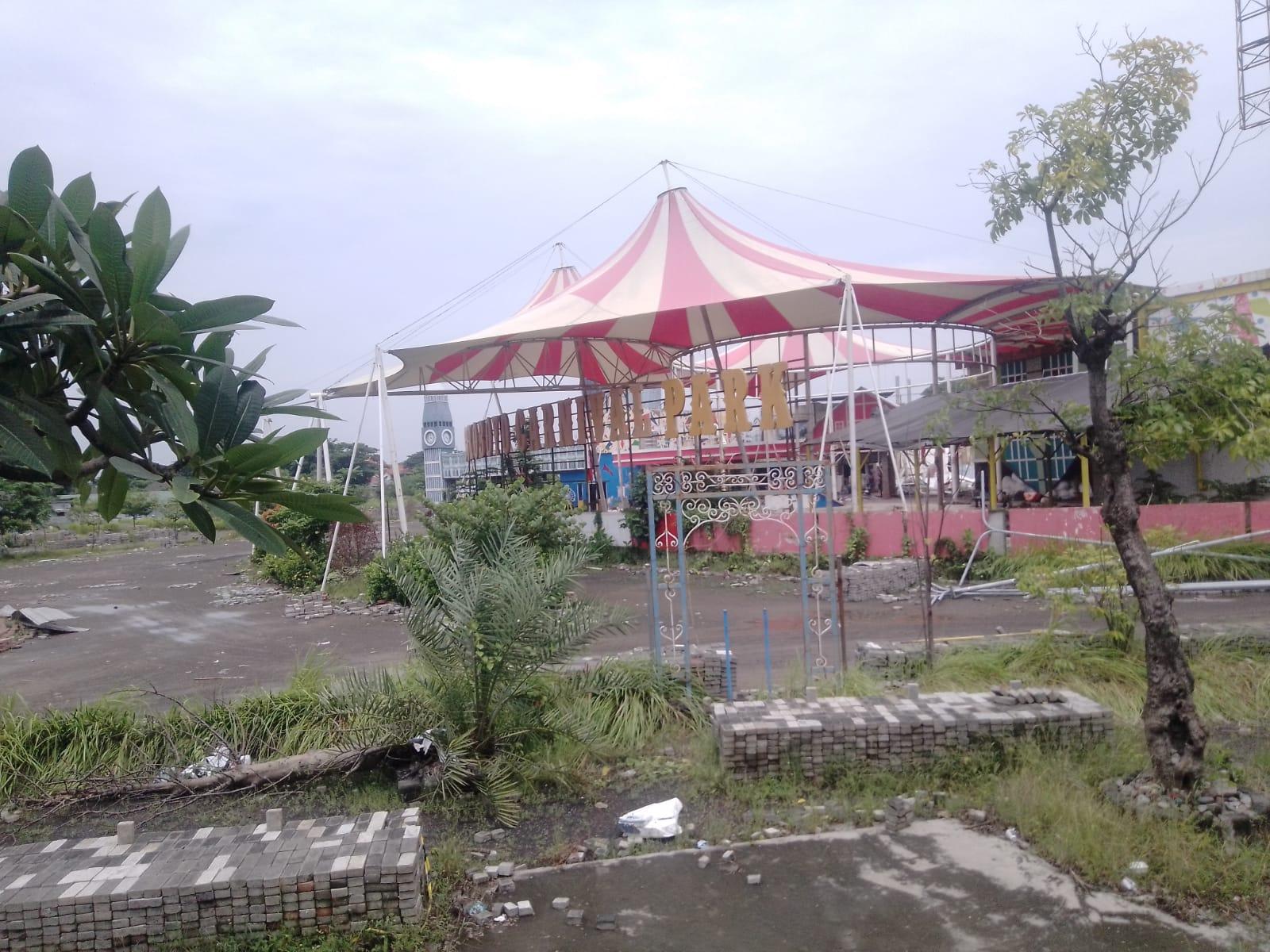 Tempat wisata SNCM di Surabaya kini jadi kenangan karena sudah tidak beroperasional lagi. (Foto:Rangga Aji/Tugu Jatim)