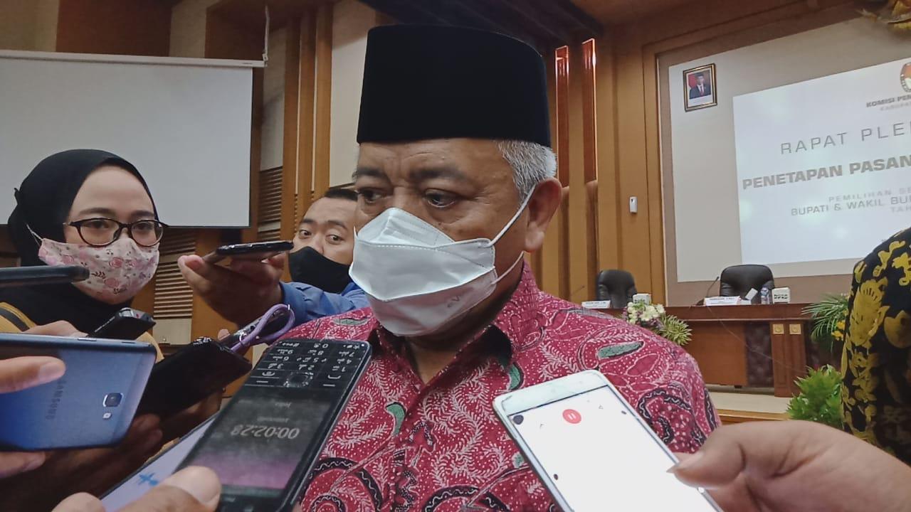 Bupati Malang Muhammad Sanusi berbicara mengenai Kampung Tangguh Semeru. (Foto: Rap/Tugu Jatim)