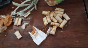 Poket isi tembakau diduga narkoba. (Foto: Humas Lapas Lowokwaru/Tugu Jatim)