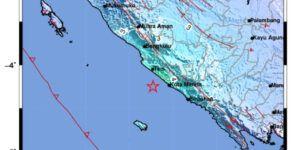Gempa M 5,8 Guncang Bengkulu, Warga Sempat Panik