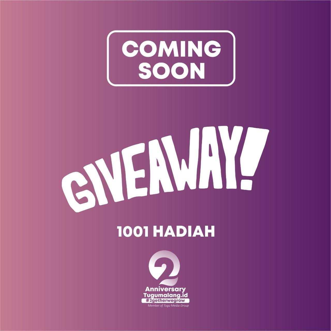 Tugu Malang ID (grup Tugu Jatim) bakal membagikan 1.001 hadiah untuk memperingati perayaan ulang tahun yang kedua. (Foto: Dokumen/Tugu Malang/Tugu Jatim)