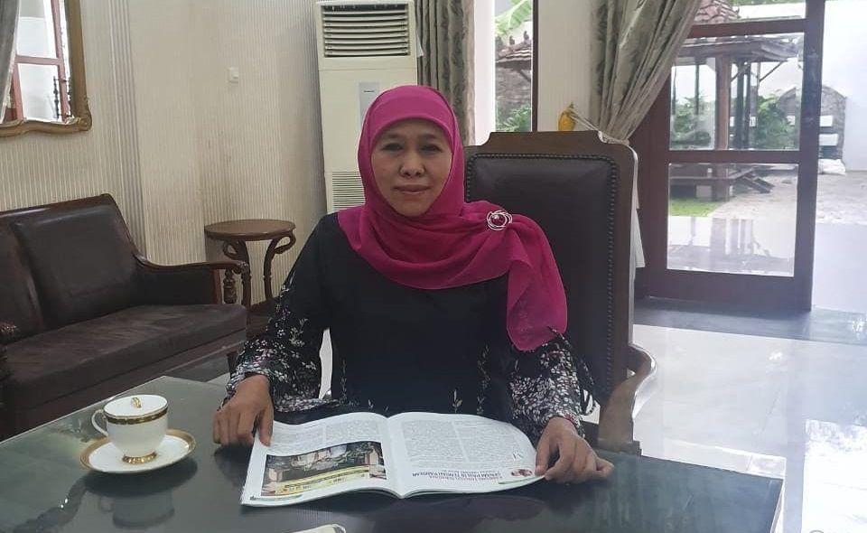 Gubernur Jatim Khofifah Indar Parawansa positif COVID-19. (Foto: Instagram Khofifah)