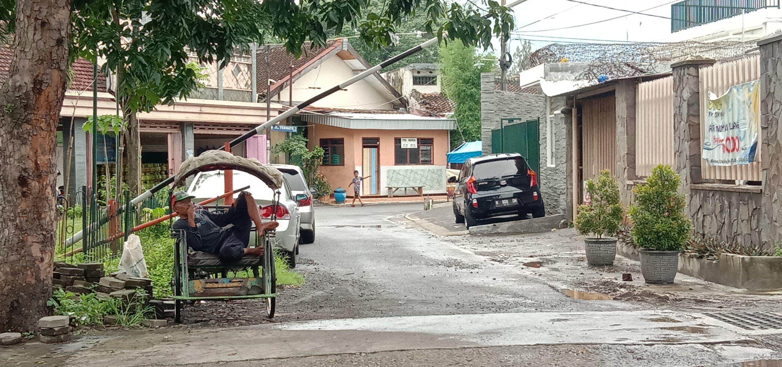 Ilustrasi kemisikinan di Kota Malang dampak pandemi COVID-19. (Foto: Fen/Tugu Malang/Tugu Jatim)