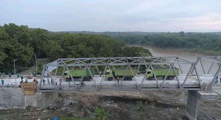 Jembatan penghubung Blora-Bojonegoro. (Foto: Pemkab Blora) terusan bojonegoro blora