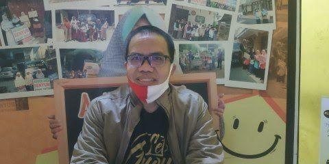 Anggota Komisi B Fraksi PKS DPRD Kota Malang, Bayu Rekso Aji e-parking
