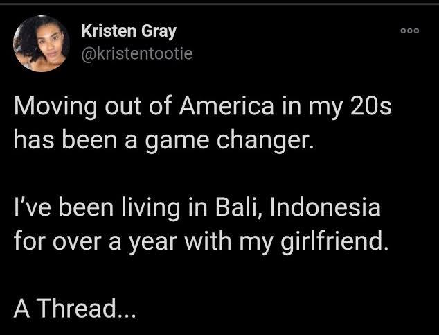 Postingan Twitter milik Kristen Grey. (Foto: Twitter/Kristen Grey)