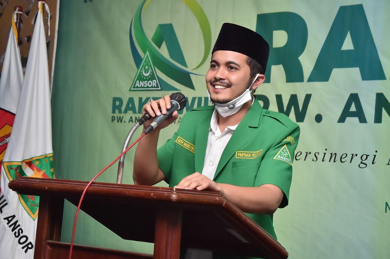 Ketua Cyber Media PW GP Ansor Jawa Timur, Habib Mahdi El Khered. (Foto: Dokumen/PW GP Ansor Jatim)