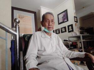 Oei Hiem Hwie, pendiri Perpustakaan Agung Surabaya. (Foto: Rangga Aji/Tugu Jatim)