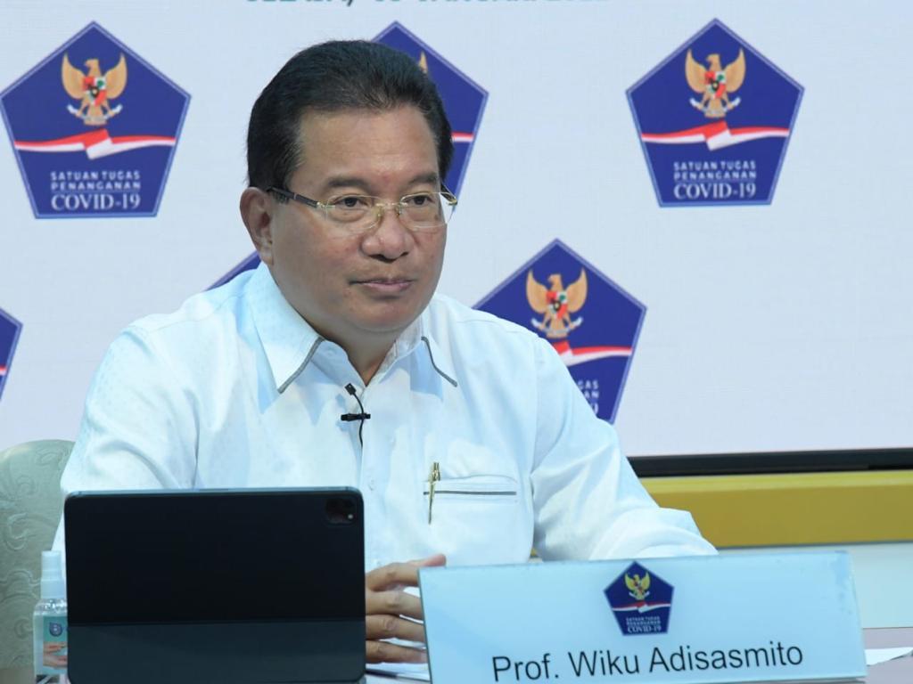 Juru Bicara Satgas Penanganan Covid-19 Prof Wiku Adisasmito. (Foto: Satgas COVID-19 Nasional) zona risiko tinggi