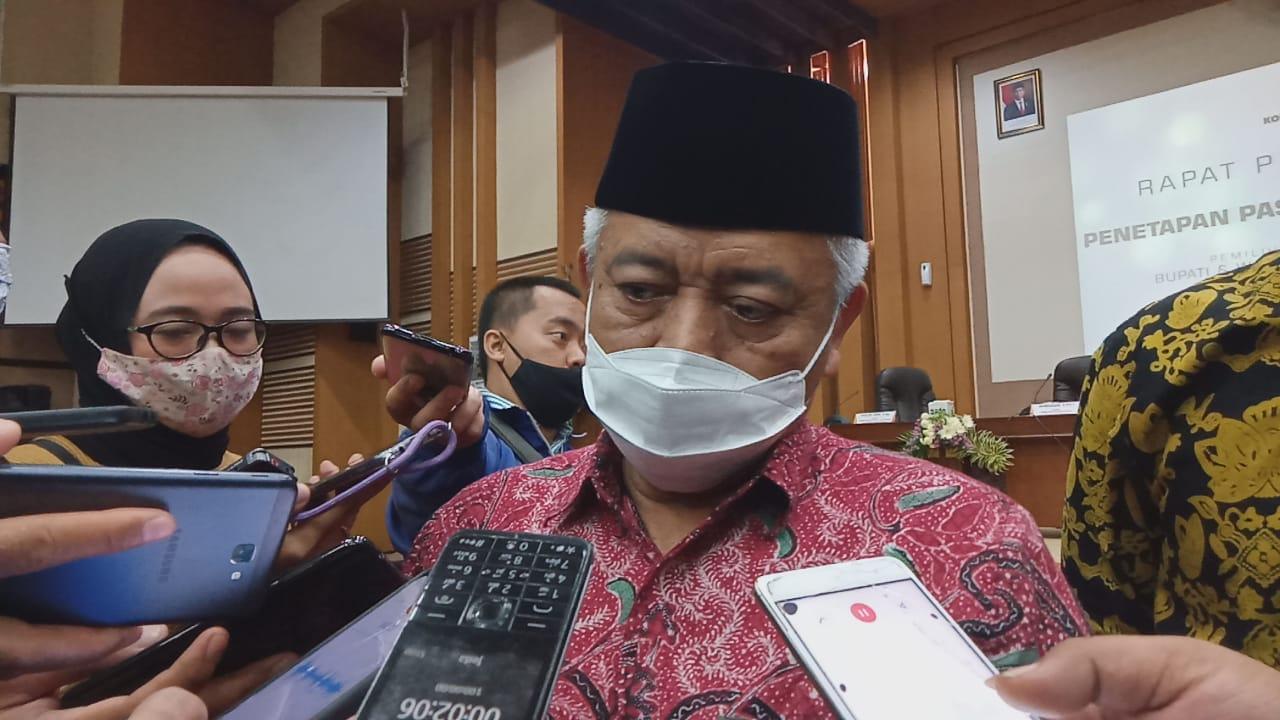 Bupati Malang, Sanusi yang kembali terpilih untuk periode kedua beberkan program 100 hari pertama. (Foto: rap/Tugu Malang/Tugu Jatim)
