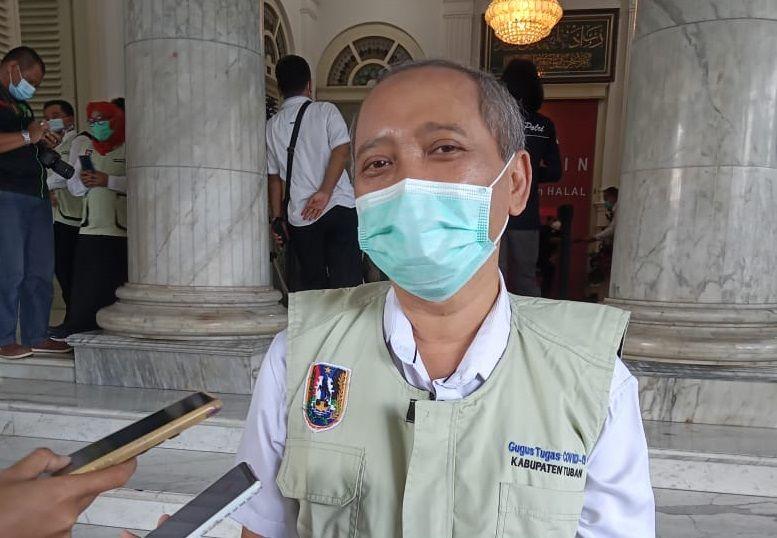 Sekretaris Daerah Kabupaten Tuban, Budi Wiyana. (Foto: Mochamad Abdurrochim/Tugu Jatim) ppkm tahap ii tugu jatim tuban