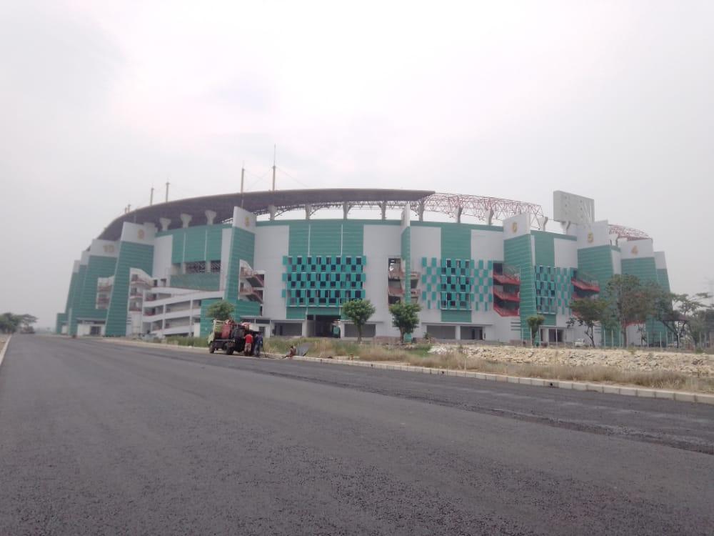 Stadion Gelora Bung Tomo Surabaya. (Foto: Rangga Aji/Tugu Jatim) stadion piala dunia u-20