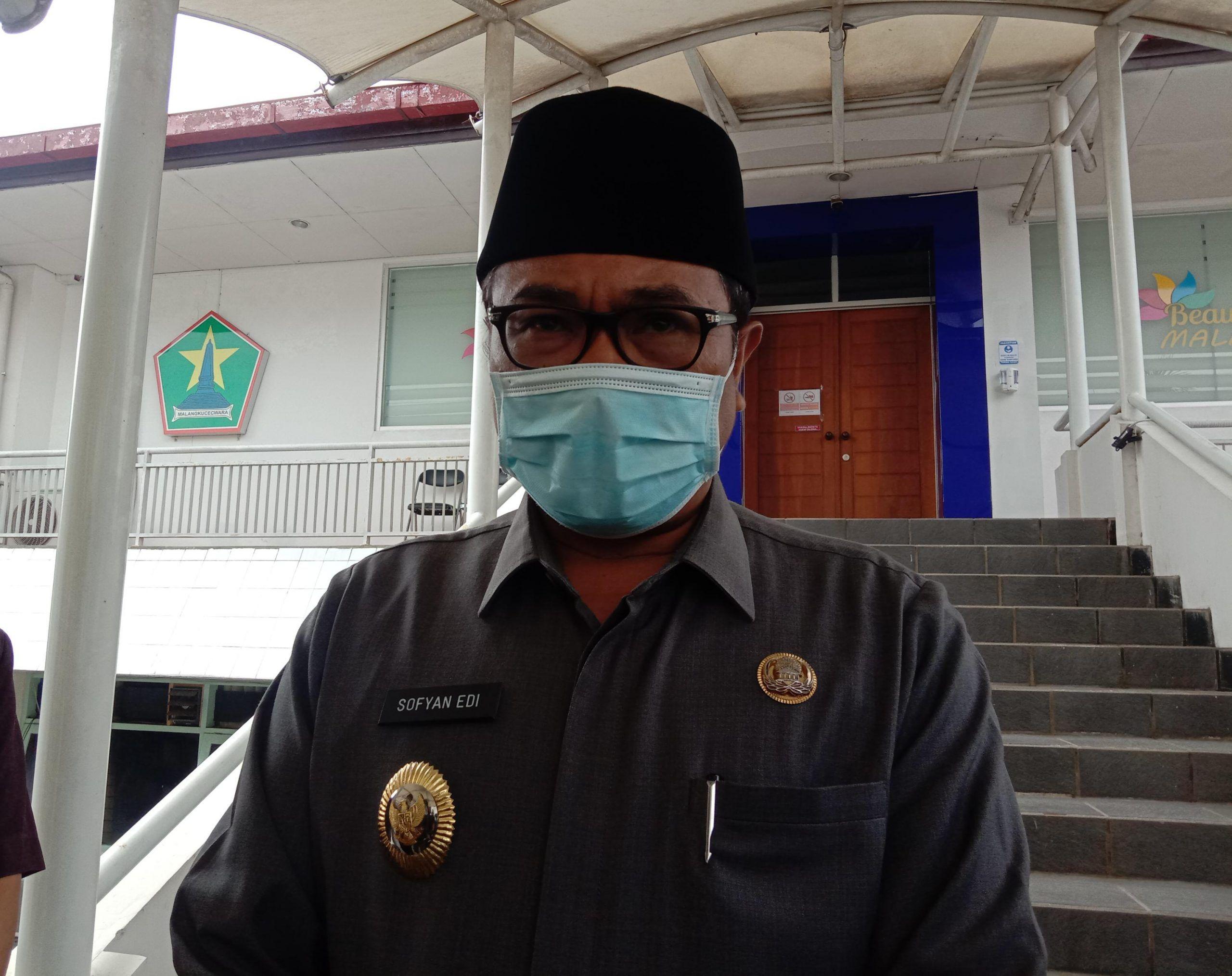Wakil Wali Kota Malang, Sofyan Edi jarwoko. (Foto: Feni Yusnia/Tugu Malang/Tugu Jatim) vaksin covid-19 vaksinasi