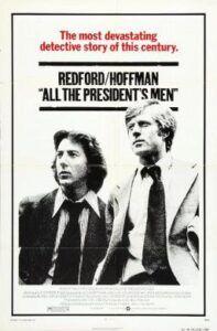 Poster film  All The President's Men. (Foto: Wikipedia)