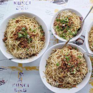 Mie Ayam Palembang Afui (Foto : Instagram/gamarosi) rekomendasi kuliner di Yogyakarta