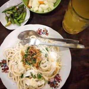 Nasi Goreng dan Bakmie Goreng Pak Pele (Foto : Instagram/jajanbantul)