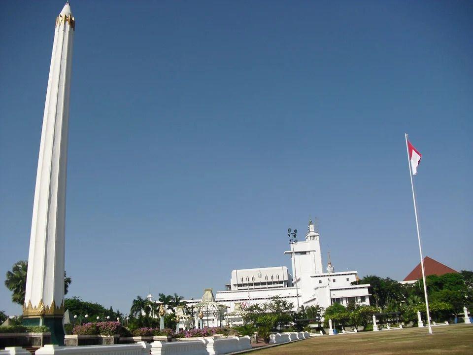 Monumen Tugu Pahlawan di Kota Surabaya. (Foto:Pixabay/Tugu Jatim)