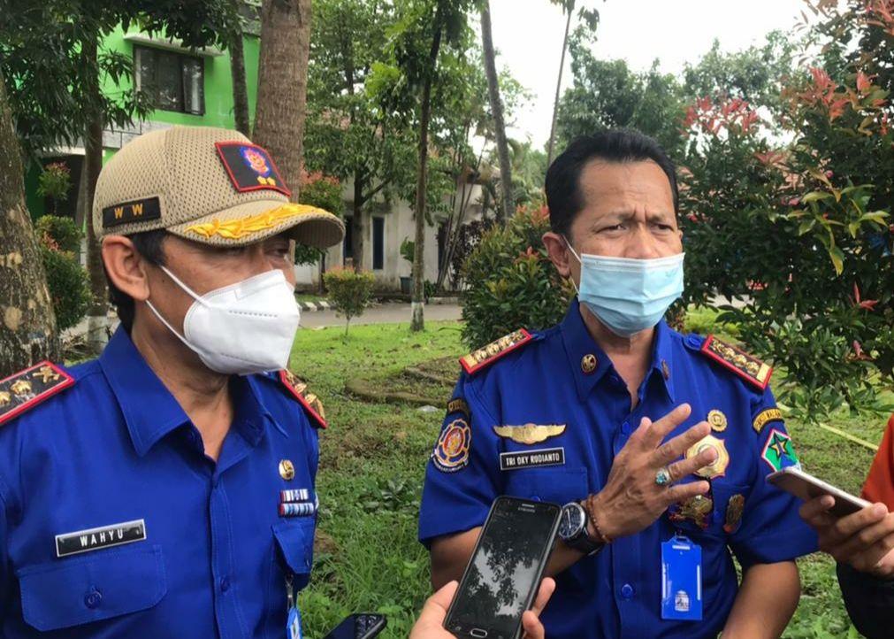 Sekretaris Satpol PP Kota Malang Tri Oky Rudianto mendorong UPT damkar naik kelas jadi OPD. (Foto: Azmy/Tugu Jatim)