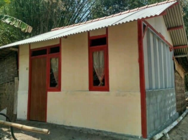 Rumah yang telah direhab dari program Aladin Pemerintah Kabupaten Bojonegoro. (Foto: Pemkab Bojonegoro/Tugu Jatim)