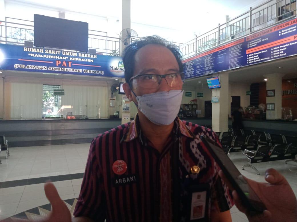 Kepala Dinas Kesehatan (Kadinkes) Kabupaten Malang Arbani Mukti Wibowo mengatakan lansia bisa ikut vaksinasi sinovac. (Foto: Rap/Tugu Jatim)