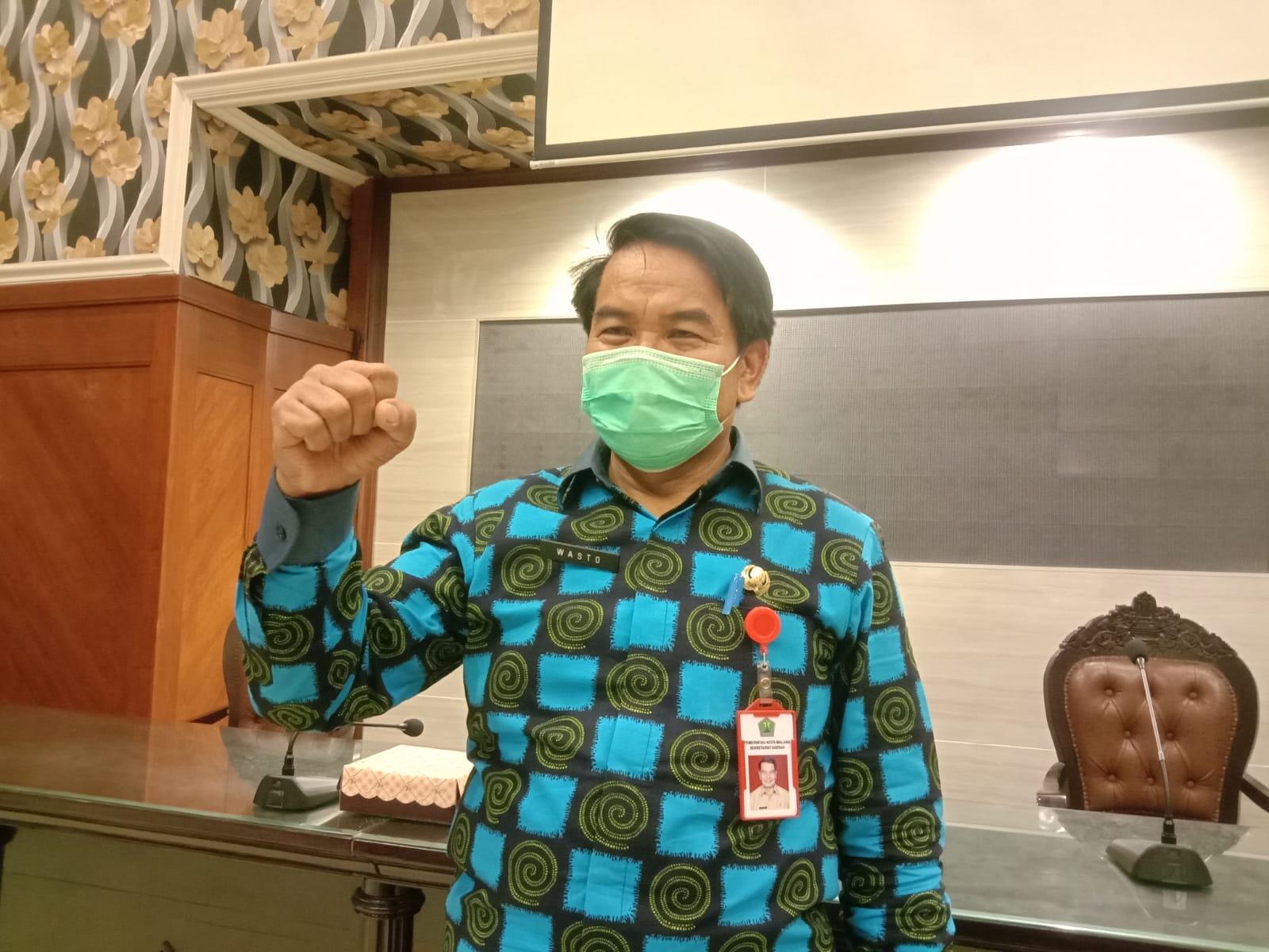 Sekretaris Daerah (Sekda) Kota Malang Wasto yang akan purnatugas pada 1 Maret 2021. (Foto: Feni Yusnia/Tugu Jatim)