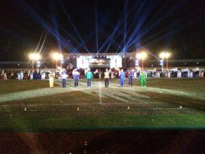 Suasana Closing Ceremony Porprov VI Jatim 2019 di Tuban. (Foto: Rochim/Tugu Jatim)