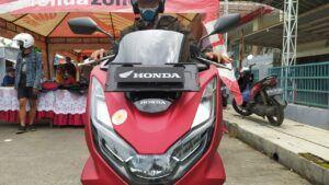 Honda PCX160. (Foto: Azmy/Tugu Jatim
