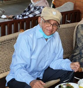 Ali Salim, wartawan senior yang tinggal di Surabaya, Jawa Timur