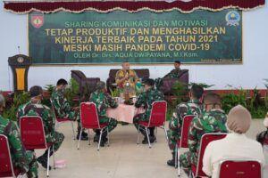 Usai melakukan Sharing Komunikasi dan Motivasi di Ambarawa, Dr Aqua Dwipayana melakukan kegiatan serupa di Magelang. (Foto: Dokumen/Tugu Jatim)