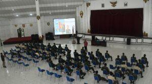 Pakar Komunikasi dan Motivator Nasional Dr Aqua Dwipayana melakukan Sharing Komunikasi dan Motivasi di lingkungan Kodam IV/Diponegoro. (Foto: Dokumen/Tugu Jatim) magelang ambarawa