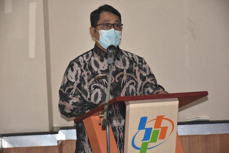 Kepala Badan Pusat Statistik (BPS) Provinsi Jawa Timur, Dadang Hardiwan. (Foto: Kominfo Jatim) tugu jatim