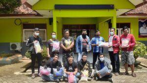 Anggota Forum Biker Tuban. (Foto: Istimewa/Tugu Jatim)