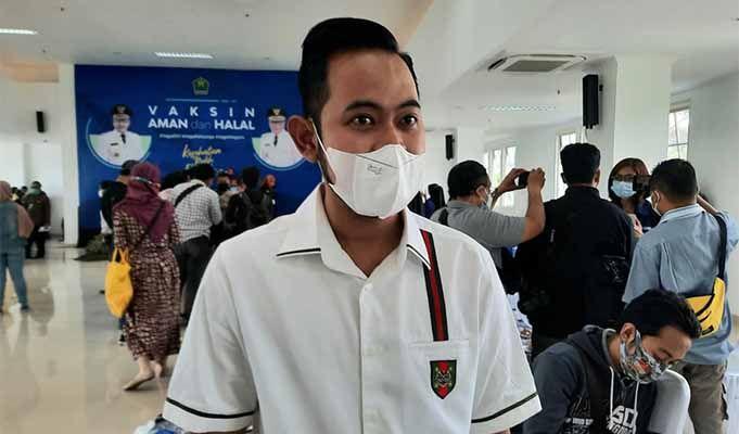 Crazy rich Malang Gilang Widya Pramana absen untuk vaksinasi tahap kedua. (Foto: Dok/Tugu Jatim)