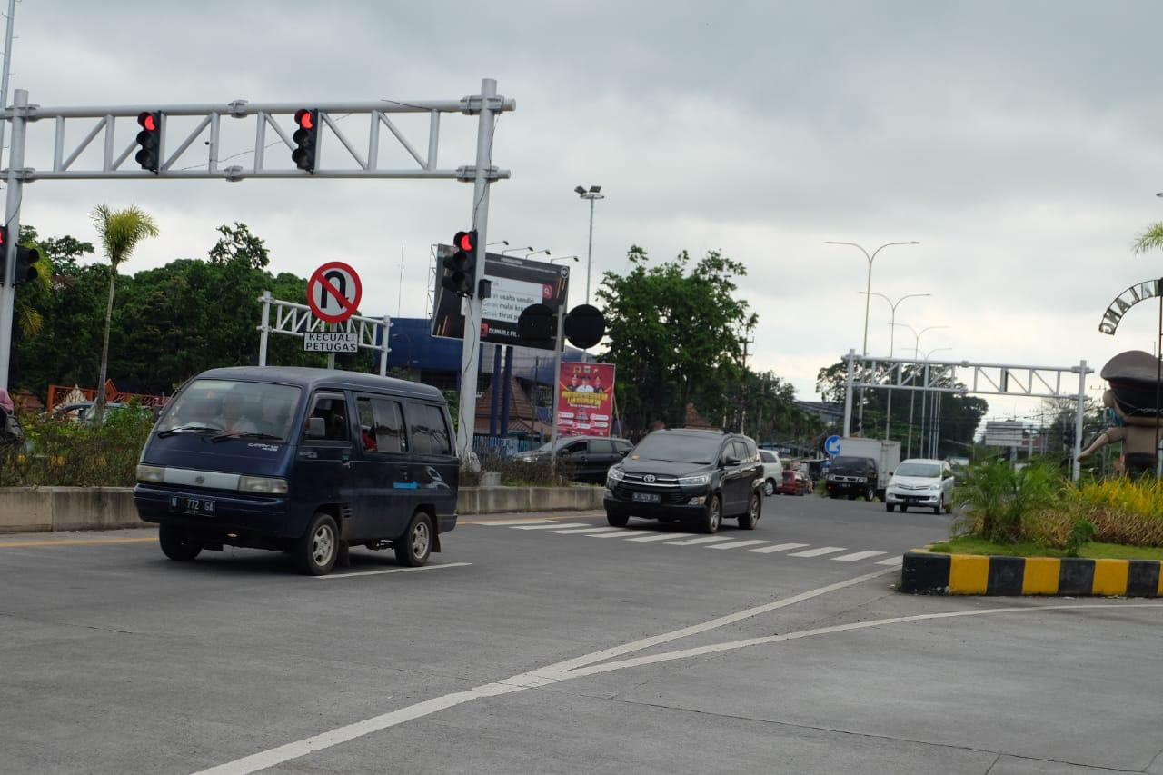 Arus lalu lintas di Kabupaten Malang yang diprediski bakal melonjak karena adanya libur panjang Tahun Baru Imlek 2572. (Foto: Rap/Tugu Malang/Tugu Jatim)