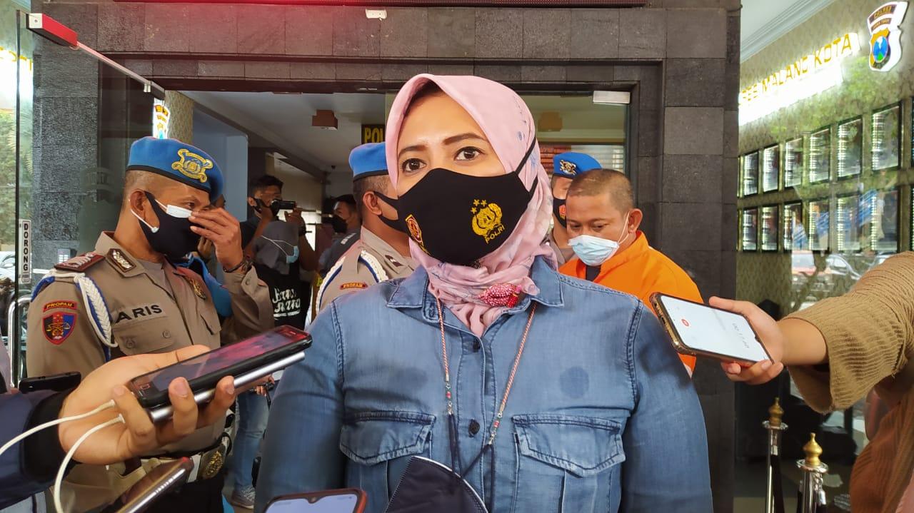Kasat Resnarkoba Polresta Malang Kota, Kompol Anria Rosa Piliang. (Foto : Azmy/Tugu Malang/Tugu Jatim) narkoba kota malang