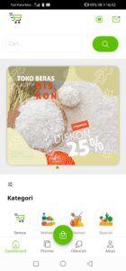 Tangkapan aplikasi Penglariss.com, sarana Diskoperindag Tuban untuk memberikan faslitas pasar online kepada UMKM. (Foto: Dokumen/Tugu Jatim)