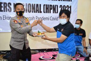 PWI Tuban Gelar Tasyakuran Peringati HPN 2021 ke-75