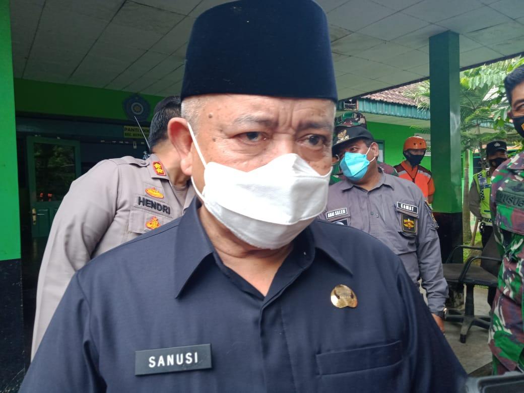 Bupati Malang, Sanusi yang bakal habis masa jabatannya untuk sementara waktu pada Kamis (18/2/2021) besok. (Foto: RAP/Tugu Malang/Tugu Jatim)