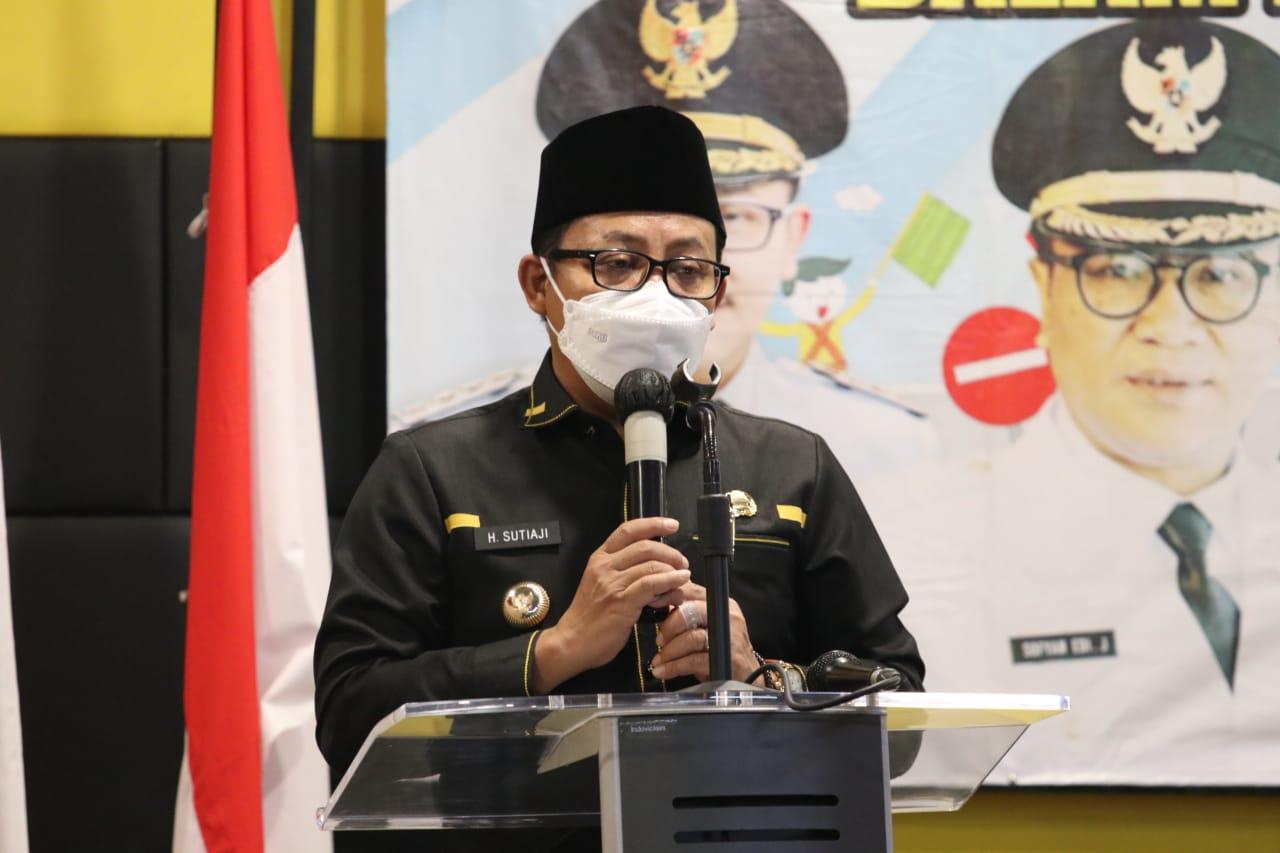 Wali Kota Malang, Sutiaji mewacanakan bakal memberikan reward atau hadiah bagi para vaksinator COVID-19. (Foto: Pemkot Malang) tugu jatim pemkot malang