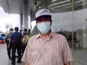 Totok Adi Prasetyo, Ketua Paguyuban P4 Cito Mall Surabaya. (Foto: Rangga Aji/Tugu Jatim)