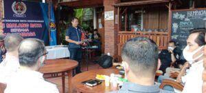 Untuk meningkatkan profesionalisme jurnalis, PWI Malang Raya menggandeng instansi dan lembaga swasta. (Foto: Rap/Tugu Jatim)