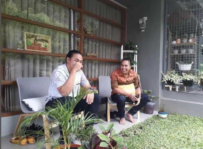 Aprilio Perkasa Manganang bersama kakak kandungnya, Amasya Manganang. (Foto: IG Amasya Manganang)