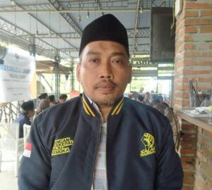 Ketua IKA PMII Cabang Tuban Khoirul Huda. (Foto:Rochim/Tugu Jatim)